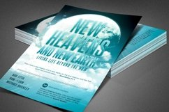 New Heaven and Earth Church Flyer Product Image 1