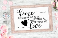 Home Sign Cut Files and Sublimation Bundle Product Image 3