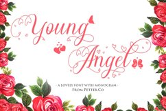 Young Angel Calligraphy Font Product Image 1