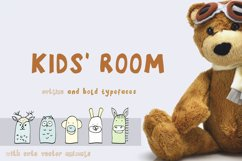 Kids' Room typeface with Outline and Solid versions Product Image 1
