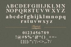 Classical Authentic Font Product Image 3