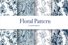 Floral Mandala Hand Drawn Set Product Image 10