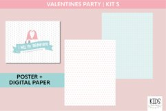 Valentine's Day party decorations. | Gnomes printable party Product Image 3