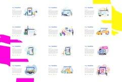 Update! Bundle 77 Pack Flat illustration PPT Product Image 2