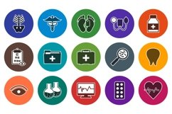 Set Of Medical and Healthcare Icons Product Image 1