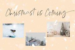 Winter Paradise - Modern Script Product Image 3