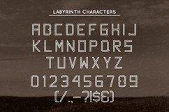 Web Font Labyrinth Typeface Product Image 4