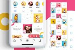 Colorful Instagram Puzzle Template for Canva Product Image 4