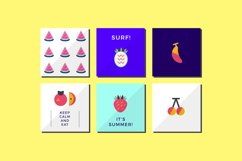 Fruity! Fun and flat fruits Product Image 2
