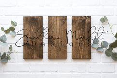 6x12 3 sign set Wood Sign Mock Up Collage Farmhouse Styled Product Image 1