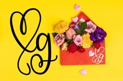 CLN - Monohearts - A Monogram Heart Font with Extra Doodles Product Image 6
