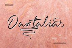 Dantalia - Handwritten Font Product Image 1