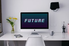 Futuristic english alphabet - 80-90s Product Image 2