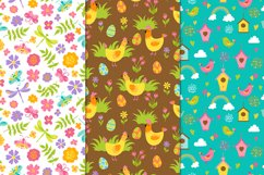 12 Spring and Easter seamless patterns Product Image 2