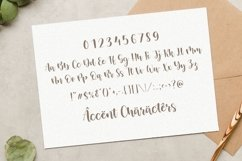 Mistikus Cinta Lovely Modern Handwritten Font Product Image 5
