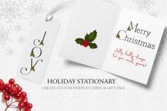 Holiday Alphabet Design Set Product Image 4