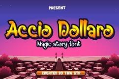 Accio Dollaro - Funny Magic Font Product Image 1