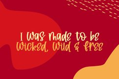 Wickedly Font Product Image 2