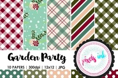 Garden Inspired Digital Papers Product Image 1