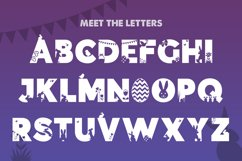 Easter Silhouette Font Product Image 2