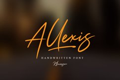 Allexis Signature Script Product Image 1