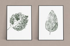 Hand Stamped Leaves Product Image 3