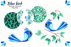 """Watercolor set """"Colored birds"""" Product Image 2"""