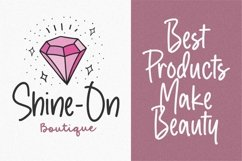 Crystal Angles Modern Monoline Font Product Image 4