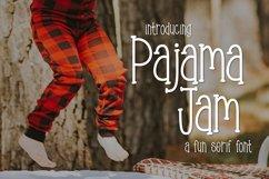Pajama Jam a Fun Serif Font Product Image 1