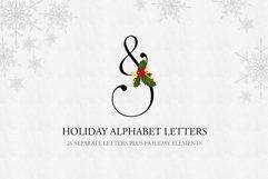 Holiday Alphabet Design Set Product Image 1