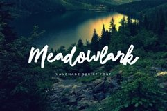 Meadowlark Script Font Product Image 1