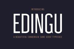 Edingu Sans Serif Font Family Product Image 1