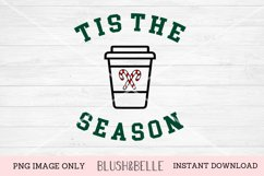 Tis The Season Peppermint Latte- PNG Image Only Product Image 1