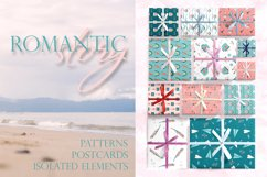 Romantic Valentine's Day. Love patterns, stickers and cards. Product Image 1