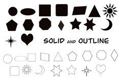 Basic Shapes Brushes For Procreate Product Image 2