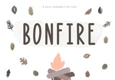 Bonfire - A Bold Handwritten Font Product Image 1