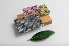 100 Seamless Glitter Ikat Tie Dye Pattern Digital Papers Product Image 4