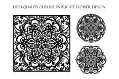 Mandala SVG | Flower Cut File Product Image 3
