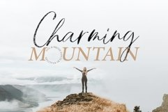 Charming Mountain - SVG Product Image 1
