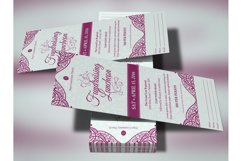 Fundraising Luncheon Ticket Template Product Image 2