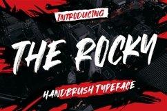 The Rocky Handbrush Typeface Product Image 1