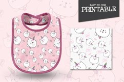 Set cute Illustration caticorn for Baby Shower Product Image 3