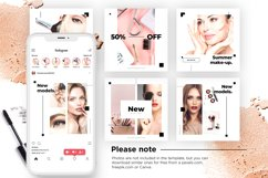 Beauty Instagram 18 Posts Template | CANVA Product Image 9
