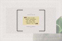 GRUNGE Facebook sale and quote pack Product Image 14