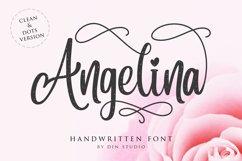 Angelina Script- Beautiful Handwritten Product Image 1