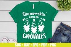 Shamrockin SVG files for Cricut | Gnomies SVG St Patrick's Product Image 1