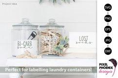 Laundry Labels SVG, Bottle Labels, Jar Labels Product Image 3
