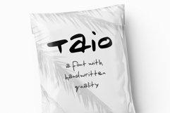 Taio Handwritten Greek Font Product Image 3