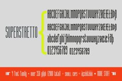 Superstretto Geometric banner logofont 4 family font Product Image 4