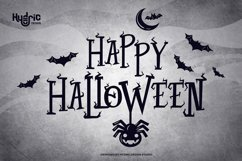 Twig Alleric - Halloween Twig Font Product Image 3